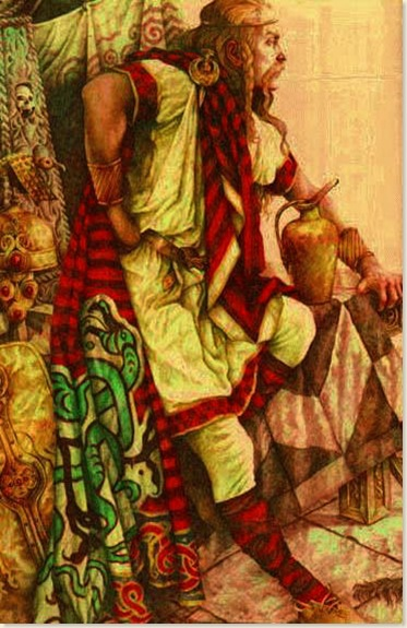 00 Celtic Warrior CuChulainn