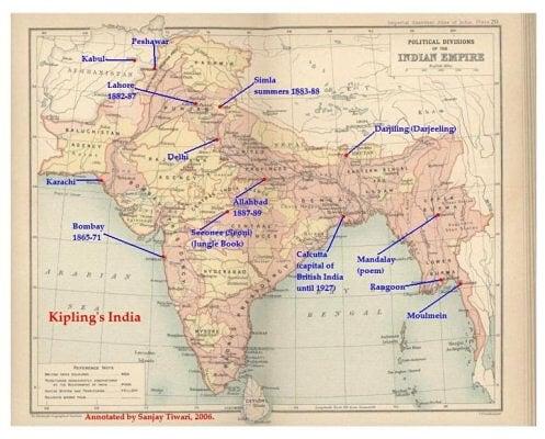 Kipling en la India