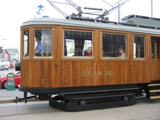 木製トラム