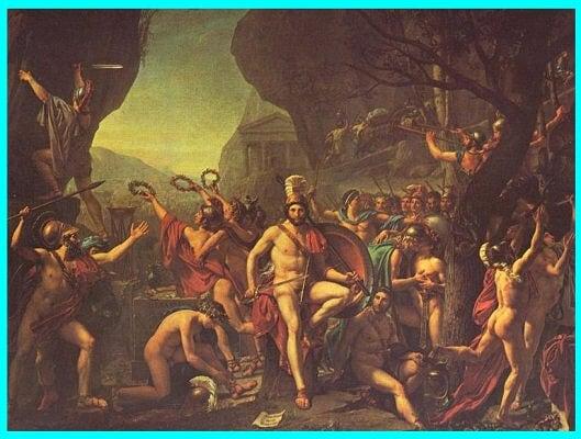 - 480 Leónidas de Esparta -Termópilas