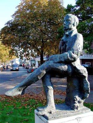 Standbeeld A.C.W. Staring